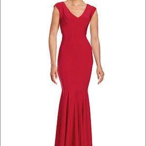 Betsey Adam mermaid dress size 4